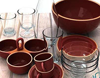 Tableware Collection - 3D Models for Sale - 3D Squirrel