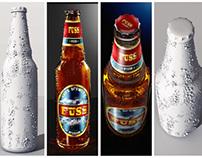 Fuss beer brand concept