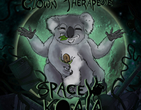 Spacey Koala - Clown Therapeute EP cover.