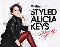 Reebok Classics - styled by Alicia Keys