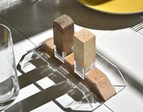 Duality: Salt and Pepper Shaker Set