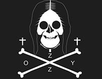 Poe-Lovecraft-Elvis-Ozzy Jolly Rogers