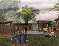GREEN SCHOOL 'tectonic concept'