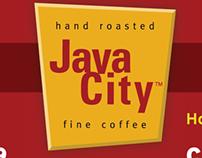 Java City Coffee Digital Menu Board