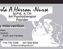 Art Psychotherapist Business Cards