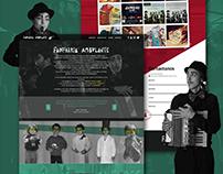 Fanfarria Ambulante | Diseño web
