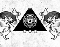 Pyramid Eye T-Shirt Illustration