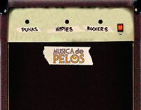 Musica De Pelos - Diseño Editorial