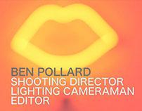 Ben Pollard Showreel