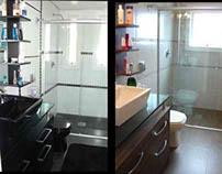 Banheiros gêmeos