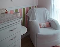 Dormitório de uma bebê