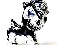 Unicorno Skull Tokidoki Art Toy