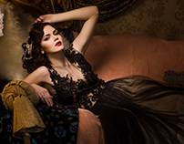 Glamour Fairy Tales- The Black Dress