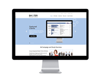 Web Design - Baxter Research