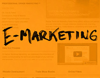 E-Marketing Design & Development