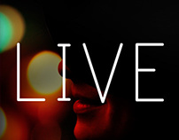 "CD Cover ""Live"""