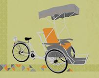 Xich Lo (Cyclo) Print