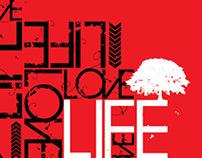 Live, Life, Love - T-Shirt Design