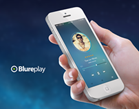 BlurePlay Music Application