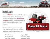 Case IH: Trivial winner email