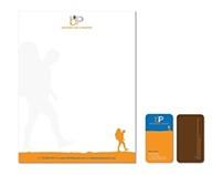 B&P logo, letterhead & business cards