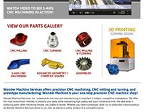 Wonder Machine Website