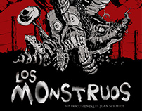 """Los monstruos"" - Movie Poster"