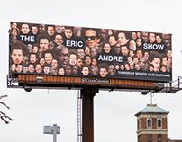 Eric Andre Season 2 Billboard/Mural Campaign