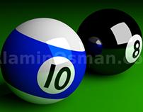 3D Pool Balls !