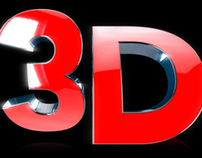 3D Text Symbol – 2 Styles