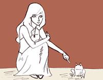 Quadrinhos- A Princesa e o Sapo