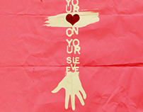 Poster Wear Your Heart On Your Sleeve