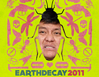 Poster Earth Decay 2011