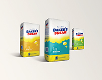 Baker's Dream Flour/ packaging