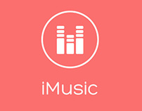 iMusic - Music Player App Design