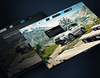 Promo site for Subaru Forester 2013