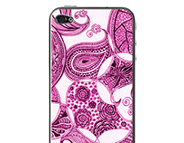 PEN & INK ILLUSTRATED PHONE COVERS
