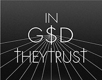 "Poster ""In God They Trust"""