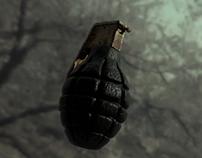 Hand grenade scene