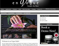 Website and Ecommerce for Sculptured Nail Systems