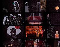 Storyboard/Fotogramas Finales de la animación Pasarela