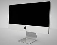 Modelado pantalla Mac con cinema 4D