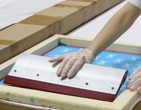 Silk Screen - Estampa Jogo de cama