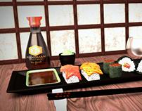 Sushi scene