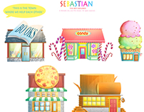 Designs----Sebastian the boy explorer