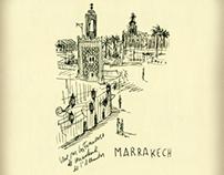 Carnet de voyage n.7 - Marrakech by Andrea Ferolla