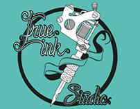 True Ink Studio logotyp