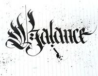 Sketchbook Calligraphy Fun vol.1