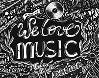 We love music