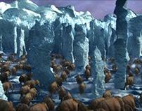 Mammoth Escape Route